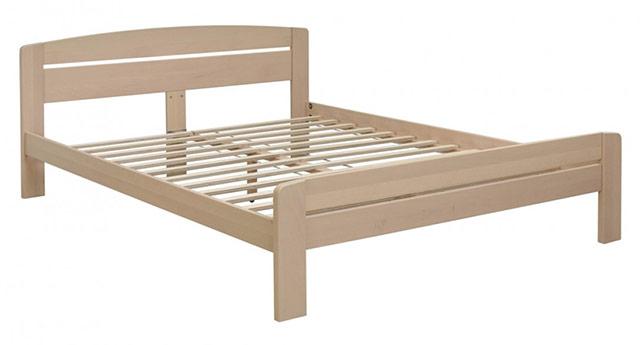 Lesena postelja Basic